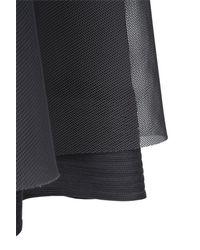 Dorothee Schumacher - Gray Techno Sheer Skirt - Lyst