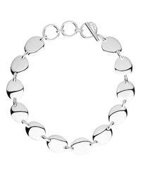 Links of London - Metallic Sterling Silver Grace Bracelet - Lyst