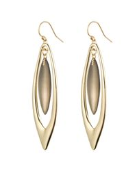 Alexis Bittar - Metallic Gold Marquis Orbiting Earring You Might Also Like - Lyst