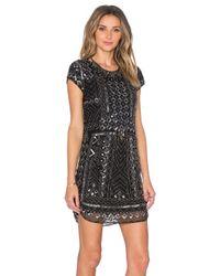 Parker | Black Topaz Sequin Dress | Lyst