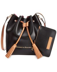Dooney & Bourke | Black Siena Serena Crossbody | Lyst