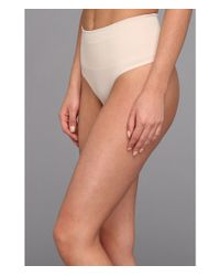 Yummie By Heather Thomson | Pink Jasmina Shaping Thong | Lyst