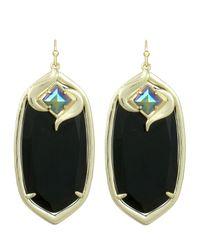 Kendra Scott | Black Gabby Galaxy Earrings | Lyst