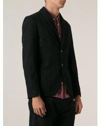 Societe Anonyme - Black Two Button Pinstripe Jacket for Men - Lyst