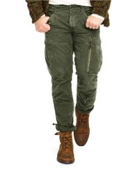 Polo Ralph Lauren | Green Military Cargo Pants for Men | Lyst