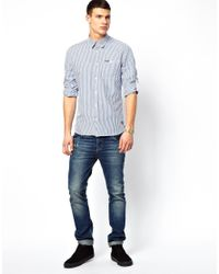 Pepe Jeans | Blue Pepe Marc Shirt for Men | Lyst