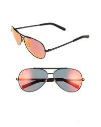 Dolce & Gabbana - Black 61mm Aviator Sunglasses - Lyst