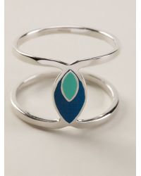 Hipanema - Blue 'twist' Ring - Lyst