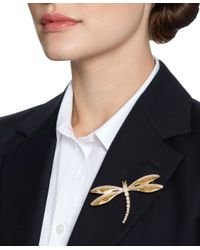 Brooks Brothers | Metallic Dragonfly Brooch | Lyst