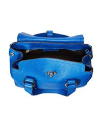 Marc By Marc Jacobs | Blue Working Girl Leather Dolly Satchel Mini | Lyst