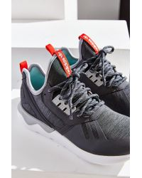Adidas Originals | Gray Tubular Reflective Weave Sneaker | Lyst