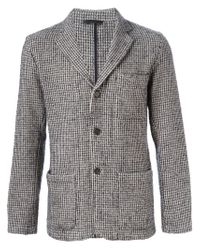 Hartford - Gray Houndstooth Blazer for Men - Lyst