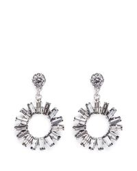 Philippe Audibert | Metallic 'paola' Sunflower Crystal Earrings | Lyst
