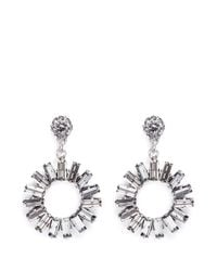 Philippe Audibert - Metallic 'paola' Sunflower Crystal Earrings - Lyst