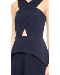 Finders Keepers - Blue Vertigo Romper - Dark Navy - Lyst