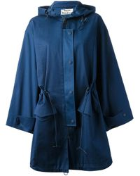 Acne Studios - Blue Epic Parka Coat - Lyst