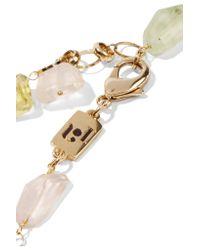 Rosantica - Metallic Pastelli Gold-tone Multi-stone Necklace - Lyst