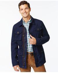 Tommy Hilfiger - Blue Horizon Utility Jacket for Men - Lyst
