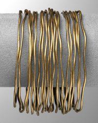 Lauren by Ralph Lauren - Metallic Organic Hammered Bangle Bracelets/Set Of 20 - Lyst