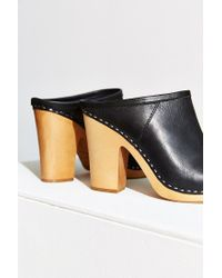 Dolce Vita | Black Ackley Leather Clogs | Lyst