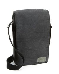 Hex | Black 'supply Collection' Water Resistant Macbook Air Crossbody Bag for Men | Lyst