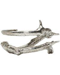 Pearls Before Swine | Metallic Silver Thorn Ring | Lyst