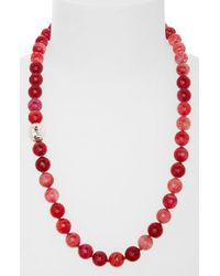 Simon Sebbag | Red Beaded Necklace | Lyst