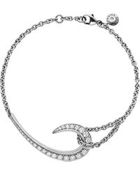 Shaun Leane | Signature 18ct White-gold Diamond Hook Bracelet | Lyst