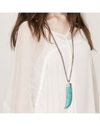 Jenny Bird - Blue Wildland Necklace - Large - Lyst