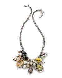 Venessa Arizaga - Metallic Makai Necklace - Lyst