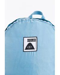 Poler - Blue Stuffable Backpack - Lyst