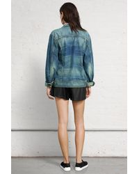 Rag & Bone - Blue Boyfriend Jean Jacket - Lyst