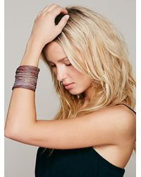 Free People | Pink Sculptor Cuff | Lyst
