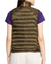 Polo Ralph Lauren | Green Explorer Down Vest | Lyst