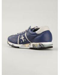 Premiata | Blue Lucy Sneakers for Men | Lyst