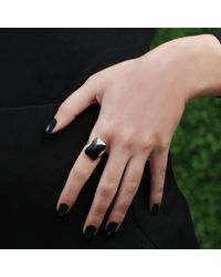 Monique Péan | Black Guatemalan Jade Ring | Lyst
