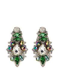 Assad Mounser - Multicolor 'aludra' Swarovski Crystal Earrings - Lyst