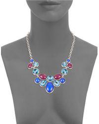 Catherine Stein | Blue Jeweled Bib Necklace | Lyst