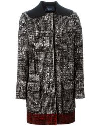 Lanvin - Red Tweed Coat - Lyst