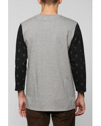 Urban Outfitters | Gray Vans Barstow Raglan Tee for Men | Lyst