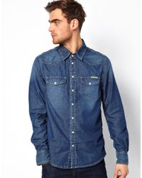 Pepe Jeans | Blue Pepe Carson Shirt for Men | Lyst