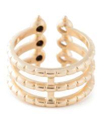 AIMEE AIMER - Metallic 'folles' Triple Ring - Lyst