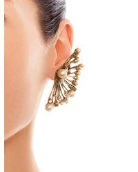 Erickson Beamon | Metallic Stratosphere Faux-Pearl & Crystal Ear Cuffs | Lyst