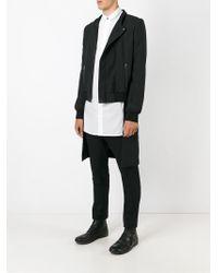 Unconditional - Black Long Tailcoat Bomber Jacket for Men - Lyst