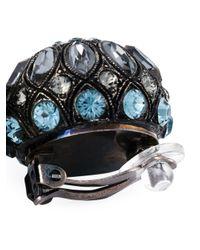 Lanvin | Blue Tassel Clip-on Earrings | Lyst