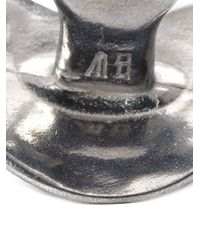 Bernhard Willhelm - Metallic Pacifier Pendant Necklace - Lyst