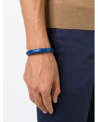 Tateossian | Blue 'alligator Cobra' Bracelet for Men | Lyst