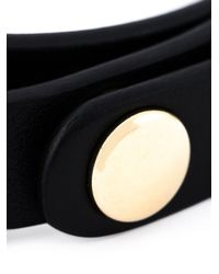Ferragamo | Black 'vara' Bow Bracelet | Lyst