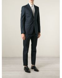 Valentino | Blue Classic Two Button Suit for Men | Lyst