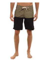 Reef - Green Craft Boardshort for Men - Lyst